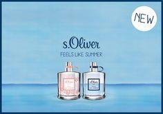 Beauty News: Die neuen Düfte von s.Oliver FEELS LIKE SUMMER, Sommer Duft Gewinnspiel.