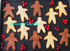 Manele à la Bergamote et au Chocolat Cacao, Gingerbread Cookies, Biscuits, Christmas, Party Desserts, Chocolates, Bergamot Orange, Gingerbread Cupcakes, Ginger Cookies
