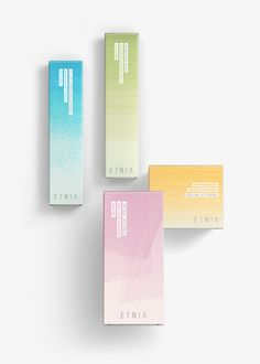 Packaging design for skin care.ETNIA Cosmetics brand has a clear objective: To open a network of stores in Spain and to repeat the same strategy at international level. It is a global design project: brand, packaging, POS, web and commun… Medical Packaging, Skincare Packaging, Tea Packaging, Cosmetic Packaging, Beauty Packaging, Brand Packaging, Product Packaging, Cienfuegos, Moisturizer For Sensitive Skin