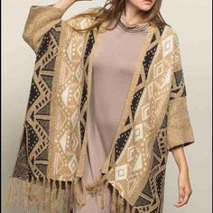 NWT Pol poncho cardigan I loooove this Poncho Cardigan by Pol! Its a statement piece and it's perfect for the winter into spring transition. Update your wardrobe with this coveted item. Pol Sweaters Cardigans