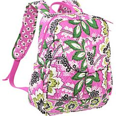 5f533ee72f Bookbag-Priscilla Vera Bradley Priscilla Pink For your sophisticated teen  girl fashionista Jansport Backpack