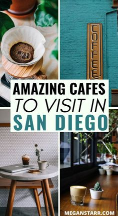 There are many places to locate the best coffee in San Diego. This guide showcases the finest San Diego cafes and gives tips of amazing coffee shops there. San Diego Shopping, San Diego Travel, San Diego City, San Diego Food, California Food, California Travel, San Diego Coffee Shops, Delicious Destinations, Travel Destinations