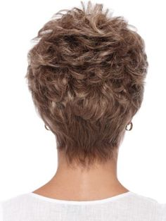 Pixie Style Soft Curly Human Hair Full Lace Wig