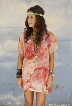 Tie-Dye Pinkers Mumu. So cute and versatile.