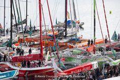 Saint-Malo, Route du Rhum-Destination Guadeloupe, le 26 Octobre 2014. https://www.facebook.com/routedurhum.officiel
