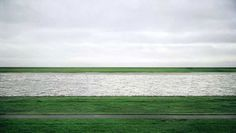 Rhein 2 by Andreas Gursky on Curiator, the world's biggest collaborative art collection. Minimal Photography, History Of Photography, Contemporary Photography, Artistic Photography, Color Photography, Creative Photography, Landscape Photography, Photography Ideas, Andreas Gursky