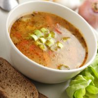 Absolutely one of my favorite Moosewood recipes ever!  Indonesian Sweet Potato and Cabbage Soup.