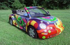 wild VW bug