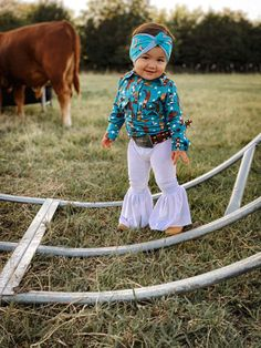 Cute Country Outfits, Cute Baby Girl Outfits, Cute Outfits For Kids, Toddler Girl Outfits, Cute Baby Clothes, Cute Kids, Cute Babies, Western Baby Clothes, Western Babies