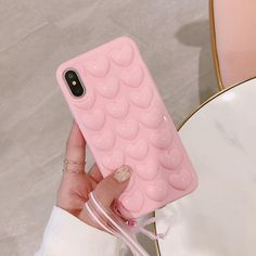 Cases & Covers For Iphone X 6 7 8 Plus Heart Soft Silicone Shockproof Bumper Case Skin Cover Iphone 7 Plus, Iphone 11, Iphone Cases, Apple Iphone 6, Unicorn Iphone Case, Ipad, Accessoires Iphone, Phone Gadgets, Pink Iphone