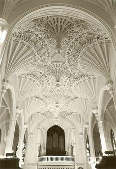 Beautiful Church Ceiling!