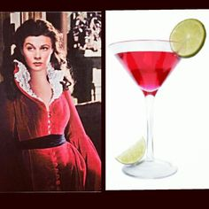 THE SCARLETT O'HARA COCKTAIL - you'll have a few of these and will definitely think about it tomorrow   2 oz #SouthernComfort   4 oz #Cranberry #juice   1 teaspoon lime juice   Lime wheel, to garnish  #TheSouth #GoneWithTheWind #SouthernCharm  #cocktails #mixology #drinks #bar #bartender #alcohol #Martini #shots #shotsshotsshots #recipe #TBT