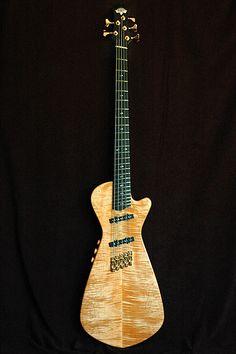 Russell Guitars Gnomon Electric Upright Bass