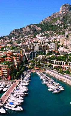 Monte Carlo Harbor is a great place to pass leisure time for the billionaire.  The view is enough to make it one of the best places to visit in Monaco