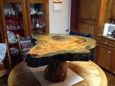Sinker cypress coffee table on cypress knee  for sale 985-258-3222