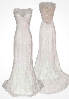 beyond beautiful!Love the all lace back.  (not original picture, so if it was yours, let me know!)