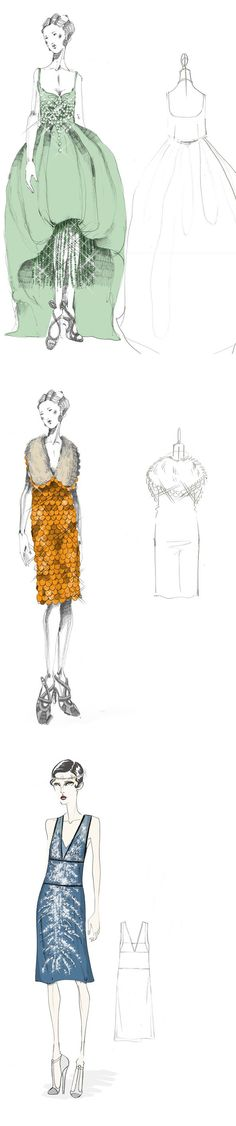 Prada renderings for Great Gatsby. http://www.vogue.co.uk/topic/the-great-gatsby