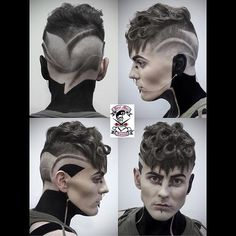 Slick Back Curls :: @atozhairstyles
