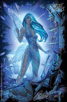 Fairytale Fantasies: Blue Fairy//J. Scott Campbell/C/ Comic Art Community GALLERY OF COMIC ART