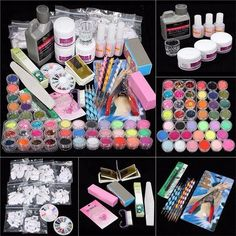 The best step by step guide on how to do acrylic nails at home brand name qibest model number nail art set kit material plastic size nail art set kit quantity nail art set kit item type set kit solutioingenieria Images