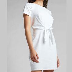 Trendy Shopping - Petite Summer Dresses White Dresses For Women, Dress Shirts For Women, White Women, Clothes For Women, Petite Summer Dresses, White Pleated Tennis Skirt, Petite T Shirts, Short Long Dresses, Pastel Fashion