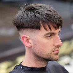 56 Trendy Bald Fade with Beard Hairstyles - Men Hairstyles World Latest Men Hairstyles, Messy Bob Hairstyles, Cool Hairstyles For Men, Hairstyles Haircuts, Haircuts For Men, Bald Fade, Skin Fade With Beard, Dicker Pony, Mushroom Haircut