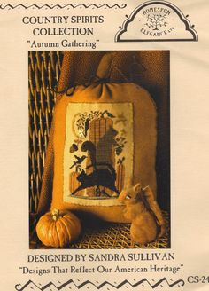 Autumn Gathering Cross Stitch Pattern