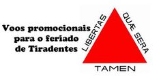 Voos promocionais para o feriado de Tiradentes #tiradentes #abril #passagens #voos #feriado