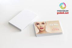 Wizytówki dla salonu kosmetycznego For You