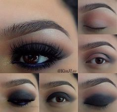 11. BLACK SMOKEY EYE WITH A POP OF COLOR