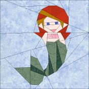 Mermaid - via @Craftsy