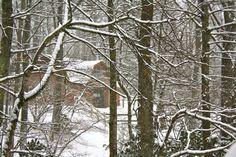 Winter Barn  11 x 14 print by photographybylisi on Etsy, $30.00