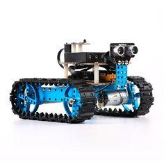 Makeblock Educational Starter Robot Build Kit Aluminum Frame Blue for Arduino…