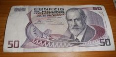 #Banknote - #Geldschein - #Österreich, 50 Schilling, 2.1.1986 Retro Vintage, My Childhood Memories, Do You Remember, Accounting, The Past, Banknote, Baseball Cards, Coins, Austria