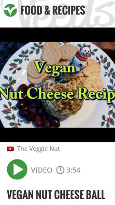 Vegan Nut Cheese Ball | http://veeds.com/i/wp2e_av5pVr-Dh07/jummy/
