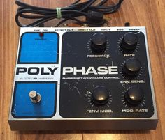 Electro-Harmonix Polyphase Vintage 1979 Big Box Wired