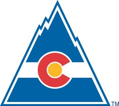 Vintage Rocky Hockey logo--the Rockies were a Denver based NHL hockey team from 1976-1982. In 1982 they were relocated and became the New Jersey Devils. Colorado wouldn't have an NHL team again until 1996 when they relocated the Quebec Nordiques to Denver. That year, the Avalanche became the 1st NHL team in history to win The Cup in it's inaugural year. Ironically, in 2001 the Colorado Avalanche went on again to win the Stanley Cup, defeating the New Jersey Devils, the former Rocky Hockey…