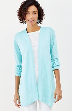 b3b986295d95e0 Just ordered this linen cardi David Zyla, Tees For Women, Get Dressed, Plus