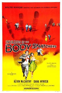 #43 Invasion of Body Snatchers 1956 (Dir. Don Siegel. With Kevin McCarthy, Dana Wynter, Larry Gates, King Donovan, Carolyn Jones)