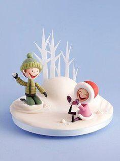 Carlos Lischetti: Bambini nella neve. Partecipa al corso e realizza in anteprima un soggetto del libro in uscita a Settembre 2012