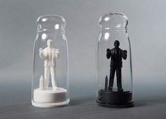 Drowning in Debt Salt and Pepper Shakers by Sebastian Errazuriz. Courtesy of Mocoloco.com