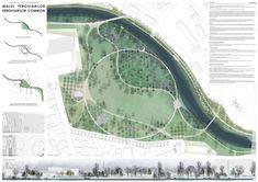 Revitalizarea Parcului Feroviarilor este într-o nouă etapă Wild Park, Linear Park, Sport Park, Urban Park, Parking Design, Central Park, Ecology, Landscape Architecture, Competition