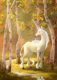 Unicorn by Valyavande.deviantart.com on @deviantART