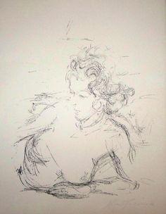 Lithographie - Alberto Giacometti - Paris sans fin
