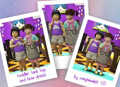 Sims 4 CC's - The Best: Toddler Clothing & Rugs by meghewlett