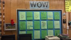Third Grade Science Notebook Bulletin Board