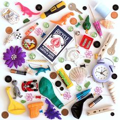"""DIY I Spy Game -Kids love those fun """"I Spy"""" bestseller books byWalter WickandJean Marzollo. I remember when Noelle was a little younger, we used to make weekly visits to the library. After sto..."""