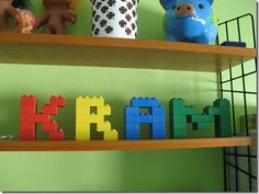 lego decor for the boys' rooms- Jake Bedroom Themes, Kids Bedroom, Lego Bathroom, Bathroom Ideas, Lego For Adults, Lego Decorations, Lego Birthday Party, Lego Room, Man Room
