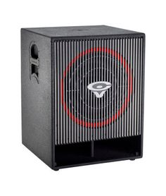 Cerwin-Vega CVA-121X Powered Subwoofer: This 21-inch C-V subwoofer puts out a massive 1200 watts continuous power and 2400 watts peak. Add this bad boy to your PA system, and make the floor shake!