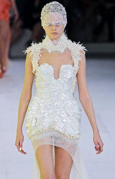 Fuck Yeah Fashion Couture |  Alexander McQueen Spring 2012
